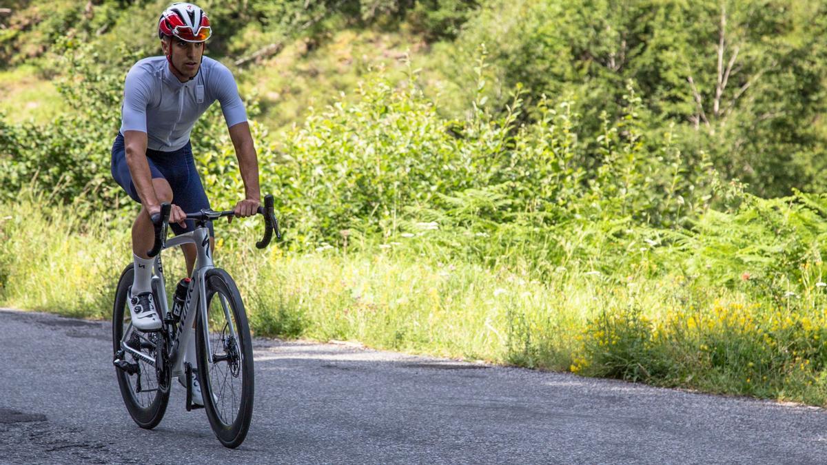 El ciclista madrileño Diego Méntrida.