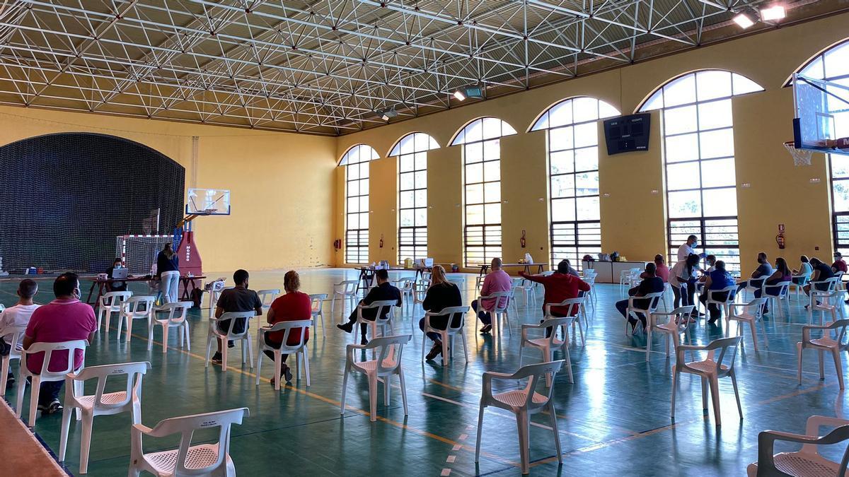 Vacunación en Canarias contra el covid 19.