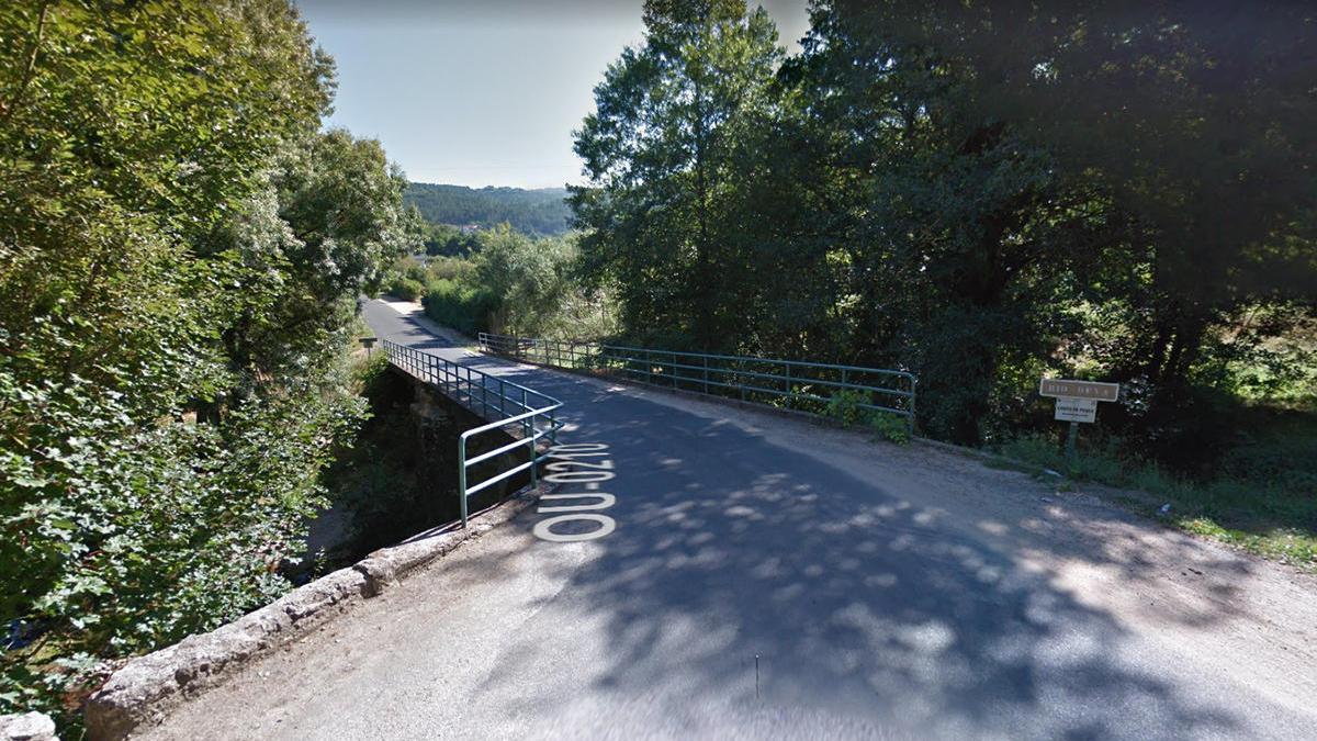 Puente sobre el río Deva, en el que ocurrió el siniestro // Google Maps