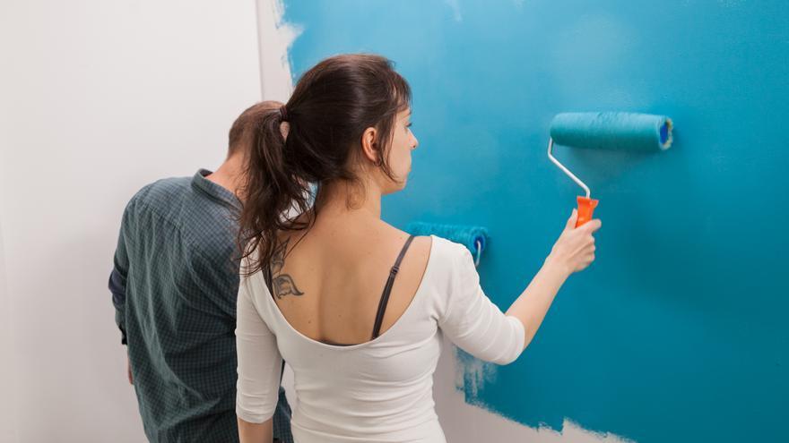 Cinco trucos para pintar paredes como un profesional