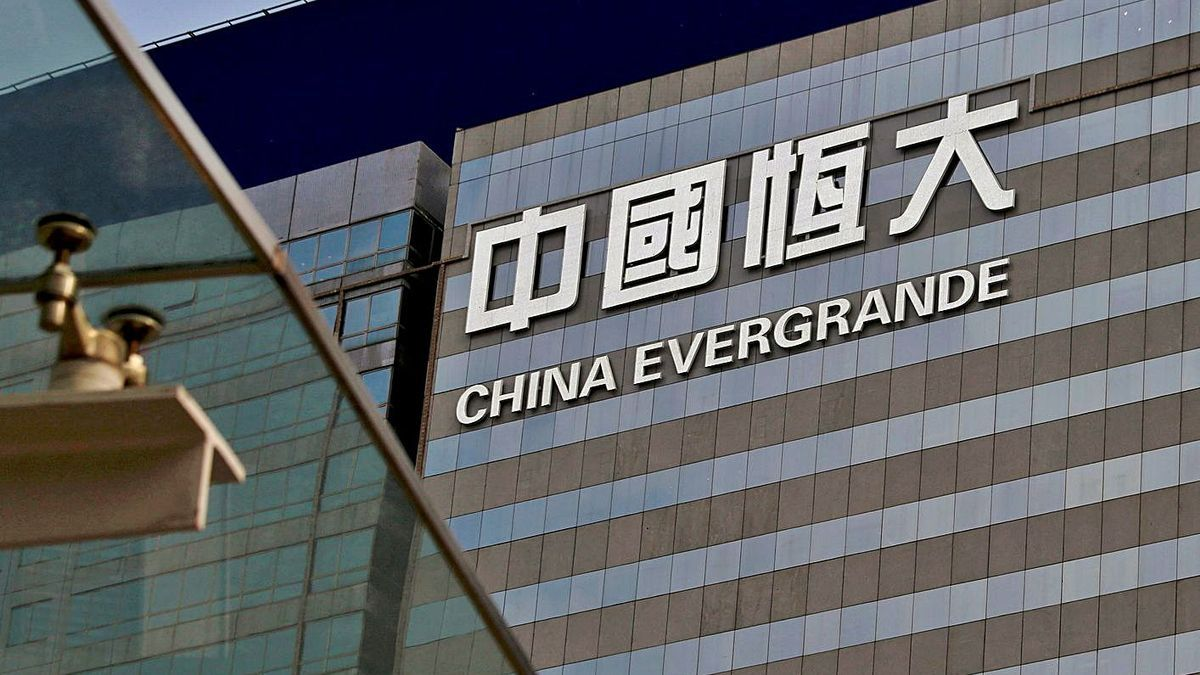 Oficines de Xina Evergrande, a Hong Kong. | BOBBY YIP