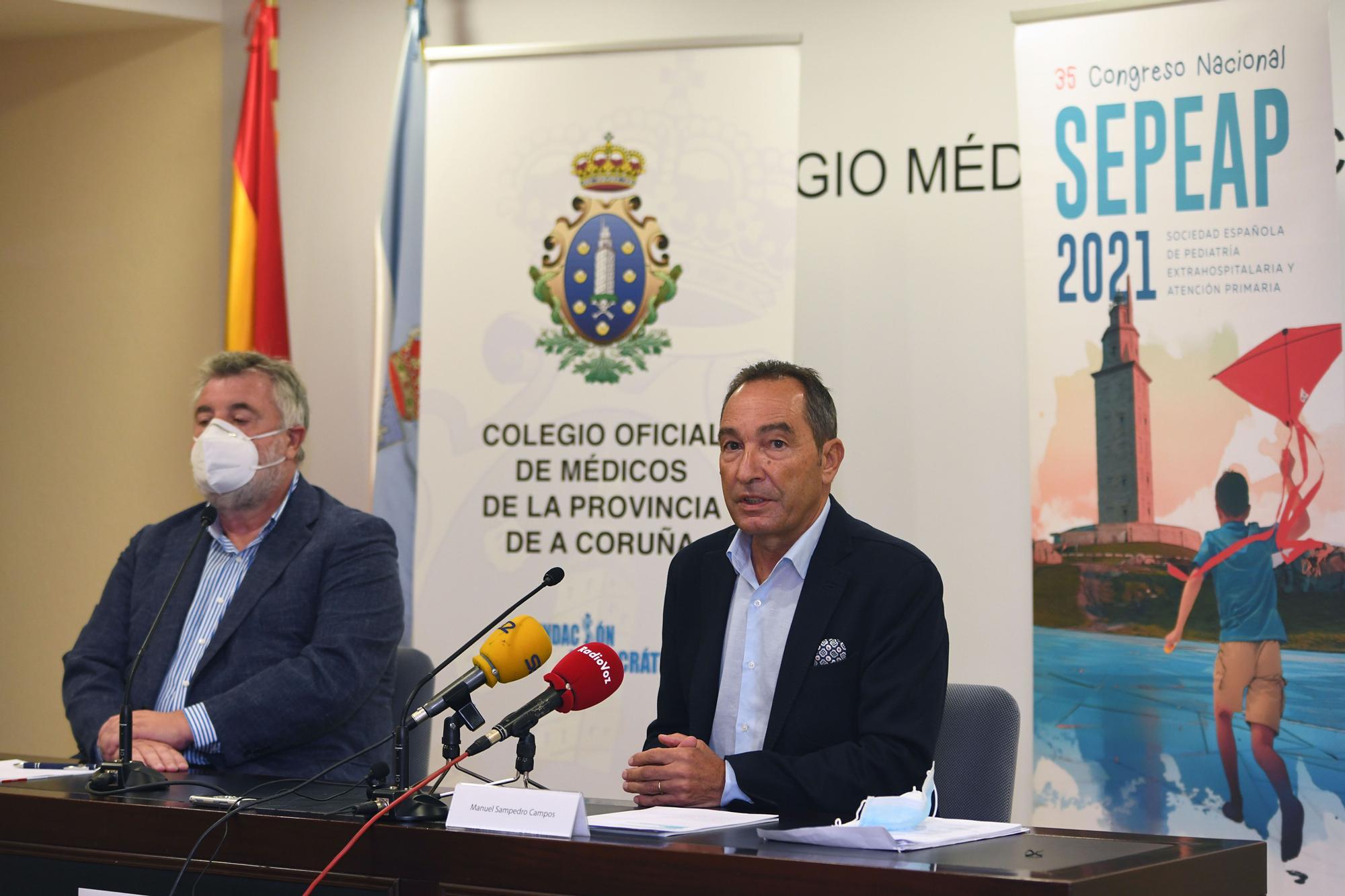 Un millar de pediatras se incriben en el XXXV congreso nacional que se celebrará en A Coruña