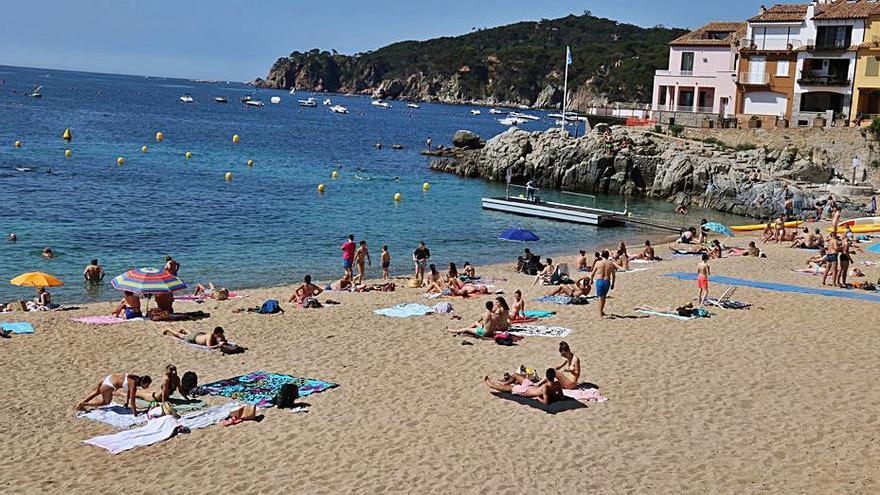 Més de 75.000 consultes en l'app de Palafrugell per saber l'aforament de les platges