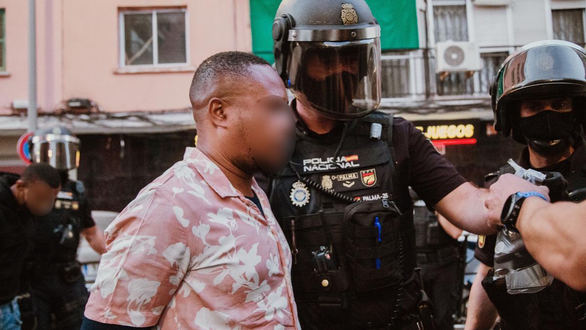 Gran operación contra el tráfico de heroína en Son Gotleu