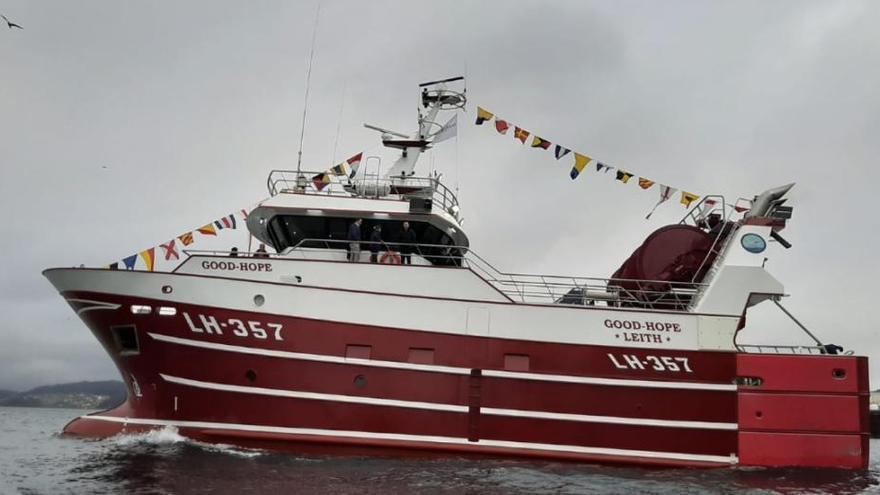 Nodosa entrega el quinto y último arrastrero para la firma holandesa Osprey