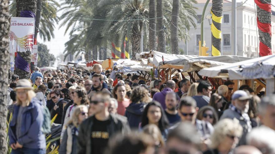 Cortes de tráfico por la fiesta de les Illes Balears