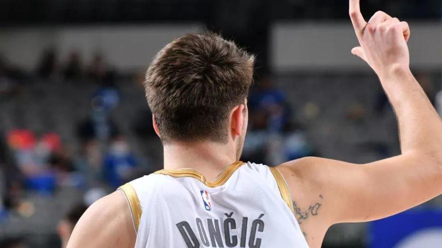 Luka Doncic repetirá como titular en el 'All-Star' de la NBA
