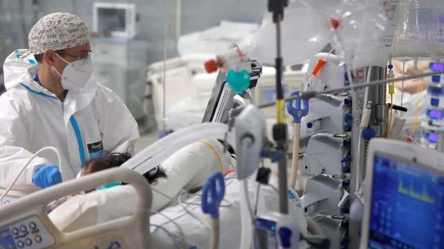Operación en el Hospital Regional.