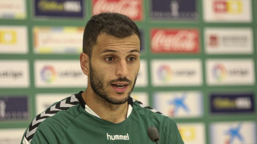 Yacine espera en Huesca un partido similar al de Girona