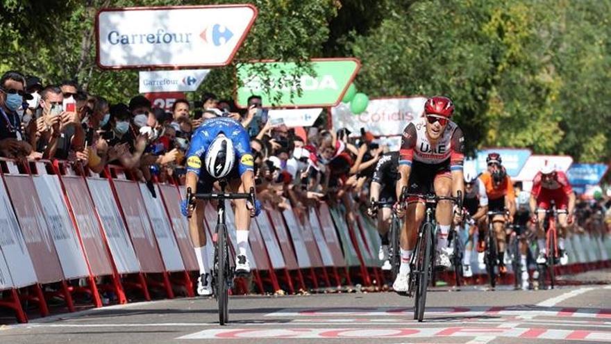 Vídeo resumen de la etapa 13 de la Vuelta a España 2021