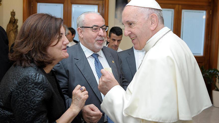 La UCAM, con el respaldo del Papa