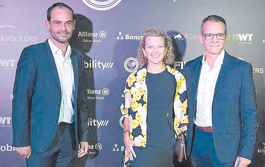 Félix Torralba, Rosa Nordfeldt y Xavier Pascuet.