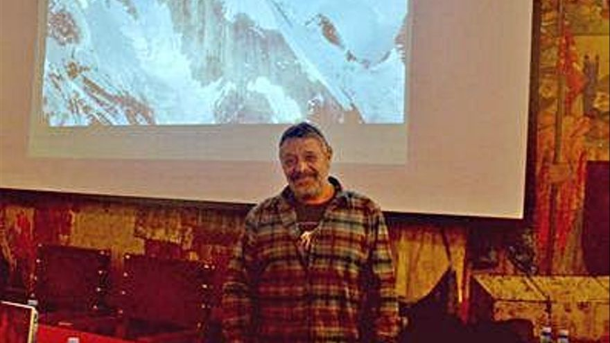 """Ramón Portilla, escalador: """"Hay algo que es difícil de entrenar, que es la capacidad de sufrir en la montaña"""""""