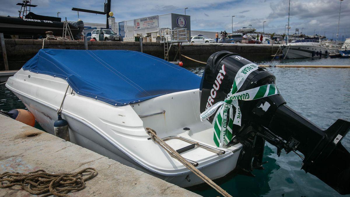 Embarcació de Tomás Antonio