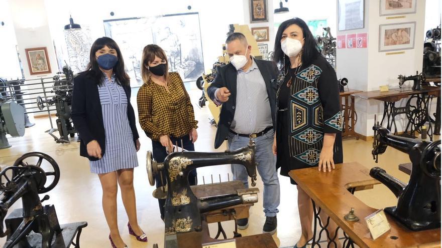 La Diputación mejorará la proyección del Museo del Calzado de Elda