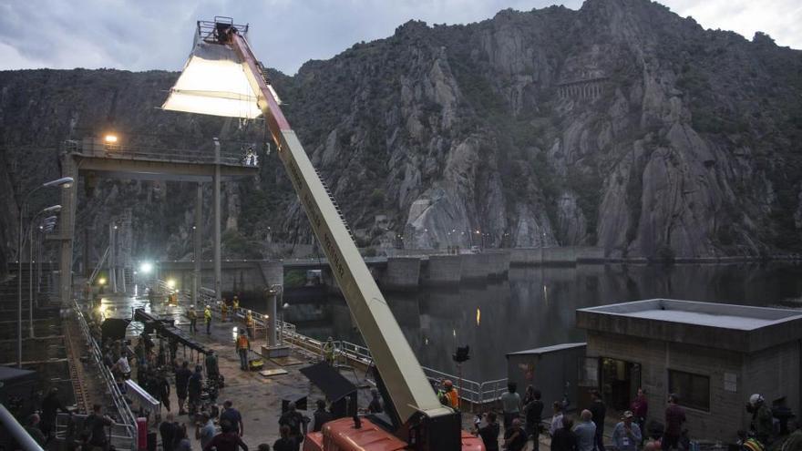 La presa de Aldeadávila, en los Arribes del Duero, escenario de la nueva película de Terminator