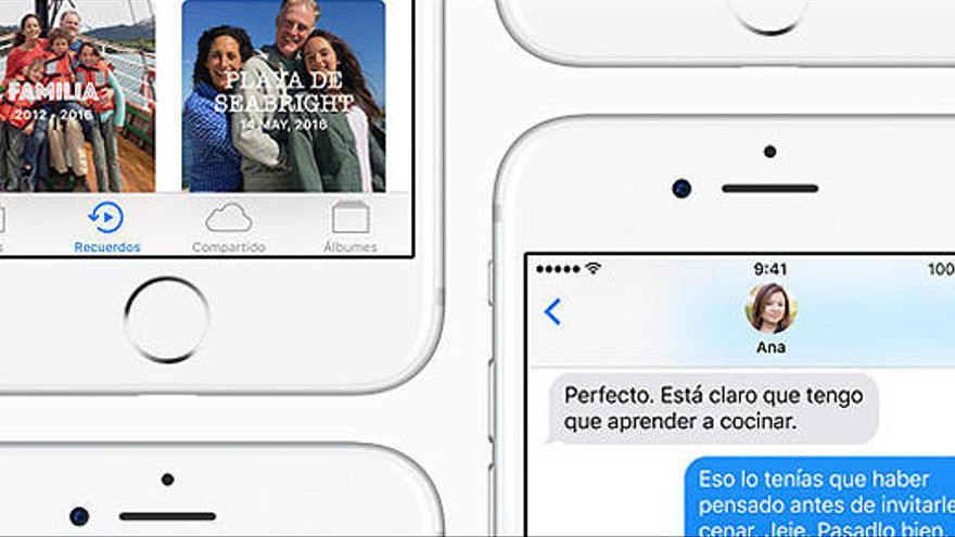 Les 10 claus del nou iOS 10