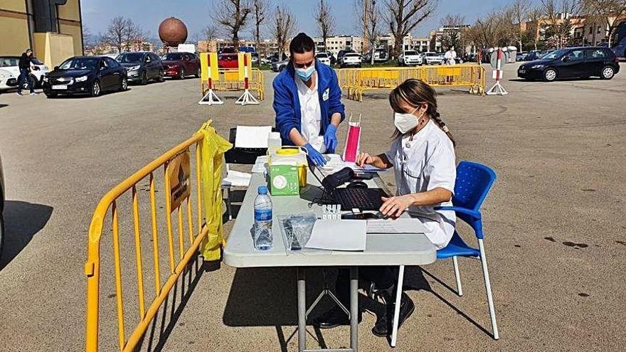 Girona s'aproxima als 20.000 immunitzats en dos mesos de vacunacions