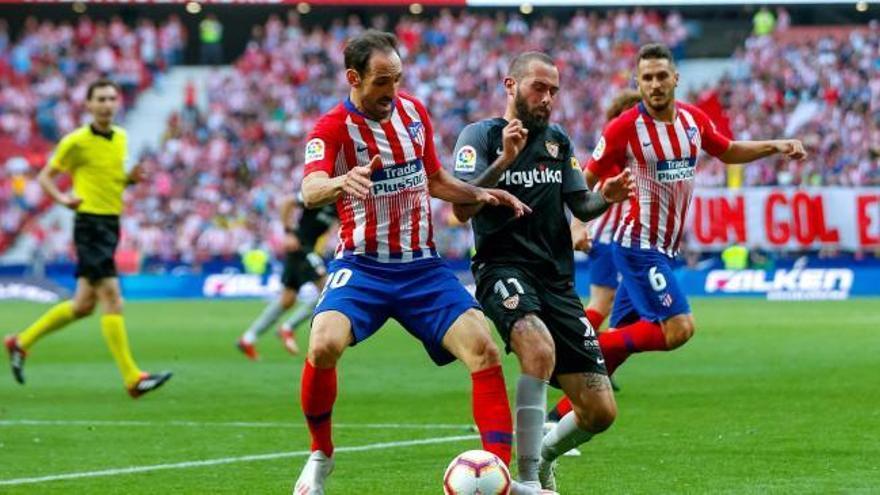 LaLiga Santander: Els gols de l'Atlètic de Madrid-Sevilla (1-1)