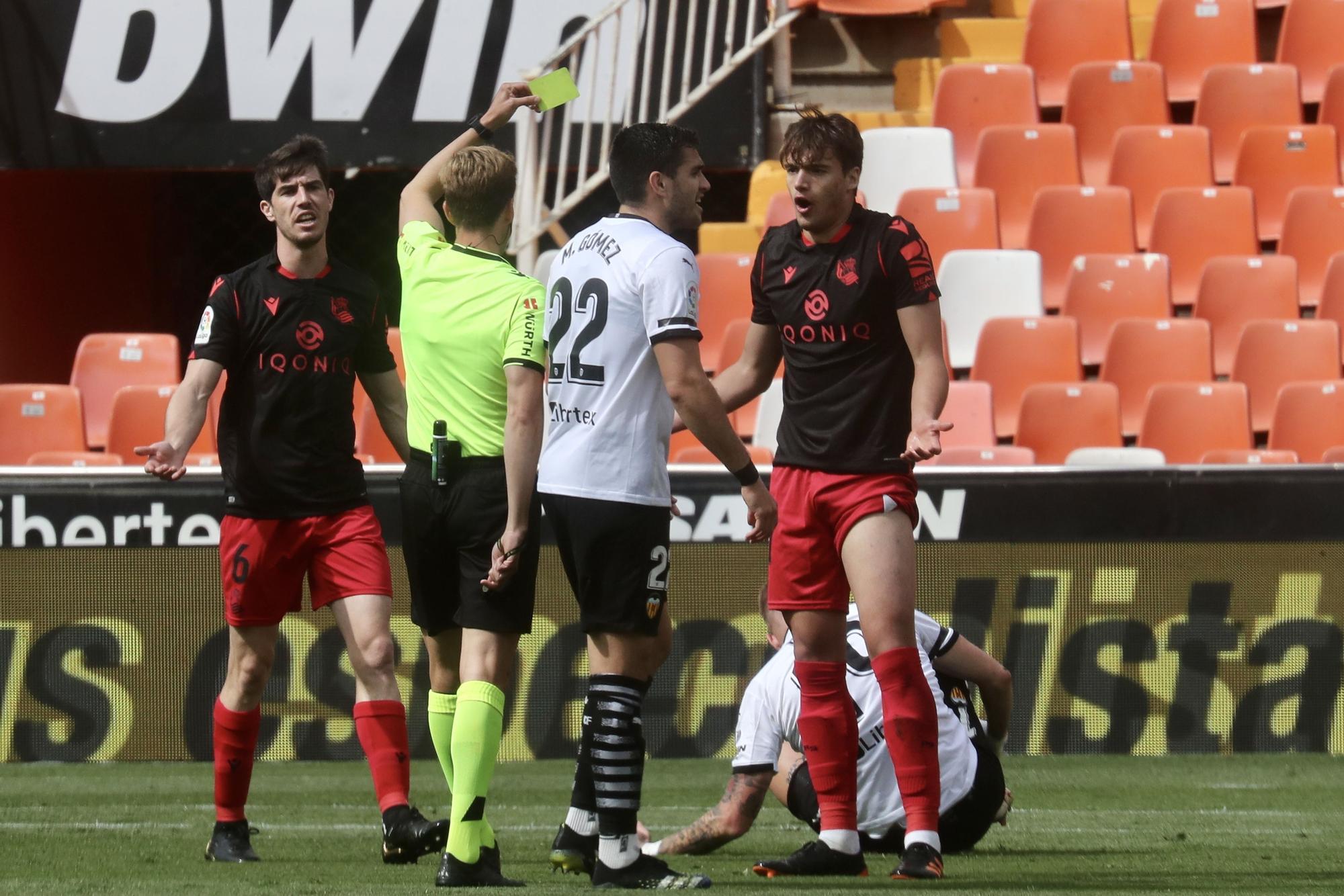Las imágenes del empate entre el Valencia CF y la Real Sociedad