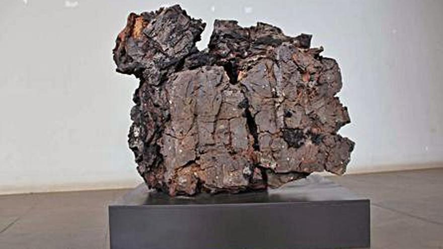 Nova escultura per al Museu de la Garrotxa