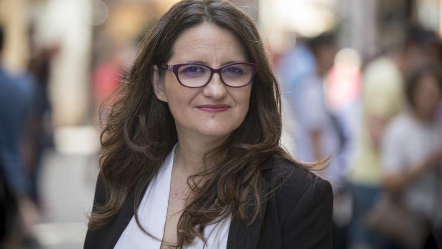 Mónica Oltra, la fuerza de la imagen y la palabra