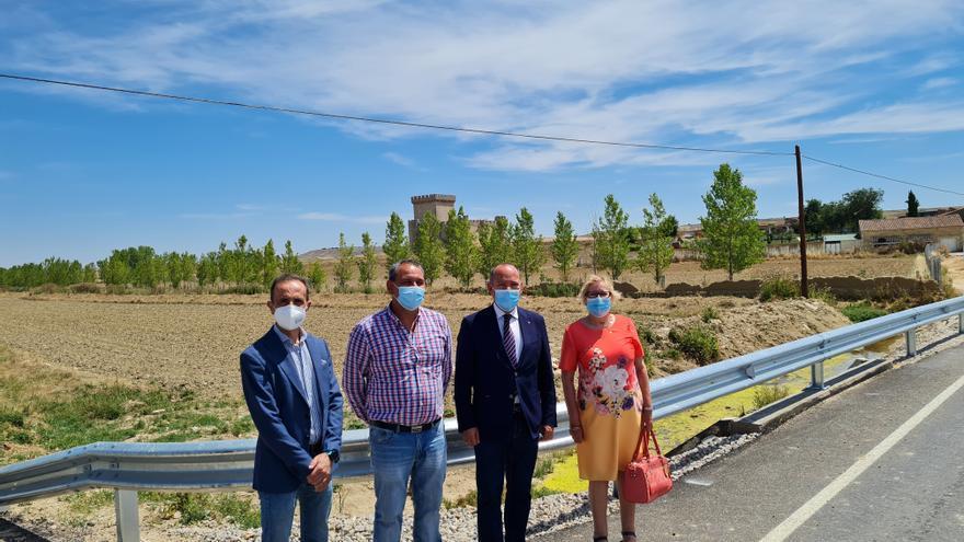 Villalonso ya cuenta con una carretera renovada