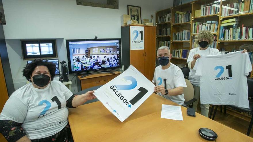 """O IES Santa Irene, entre os dez participantes en """"21 Días co Galego e +"""""""