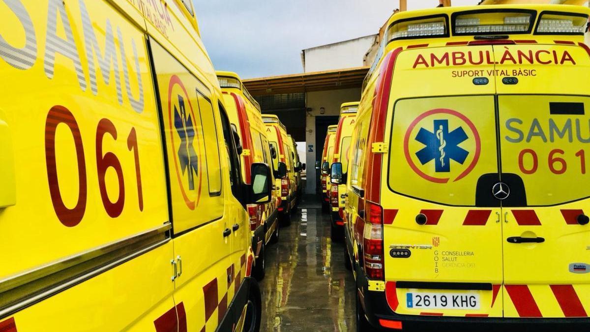 Dos jóvenes de 15 años resultan heridos tras tener un accidente en Algaida