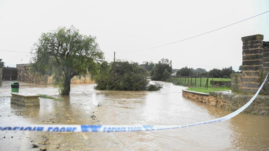 Reabren al tráfico las carreteras de Mallorca afectadas por las lluvias