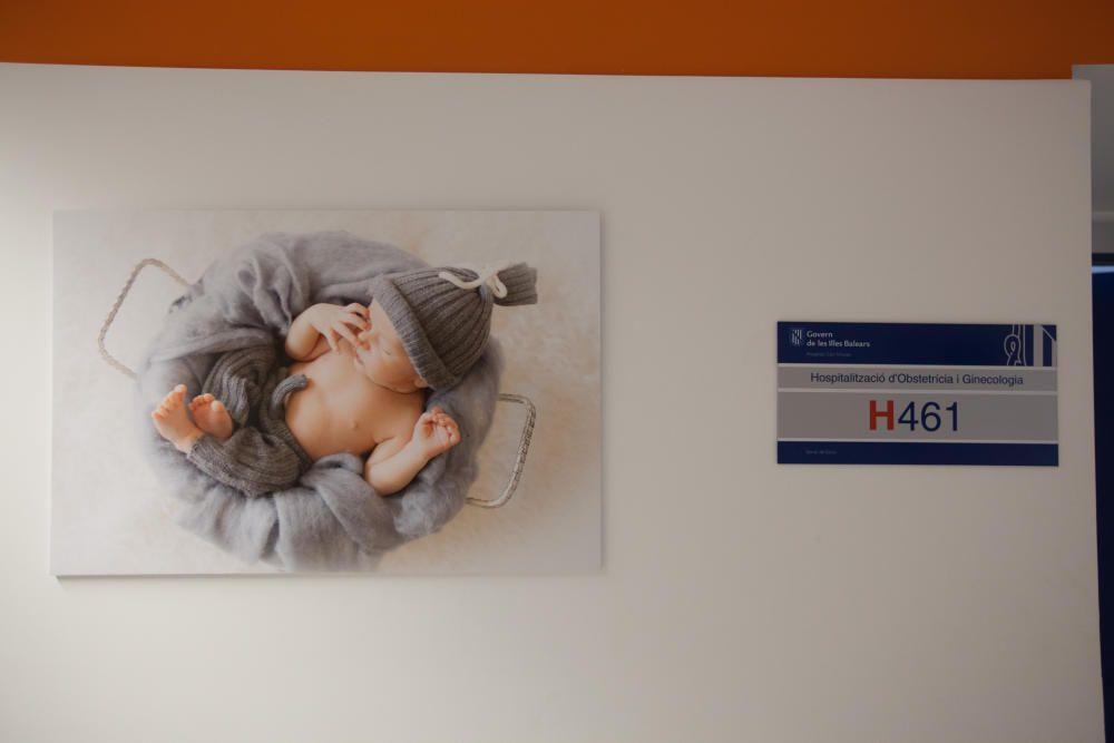 Exposición de fotos en Maternidad de Can Misses