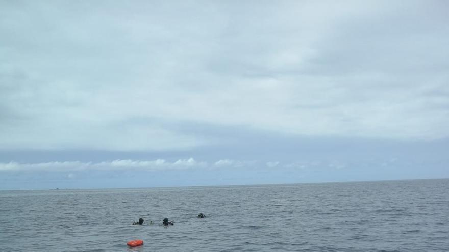 Localizan el cadáver de un submarinista en Gran Canaria