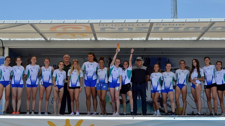 El equipo femenino del Juventud Atlética de Elche, tercero en la Liga Iberdrola de Primera División
