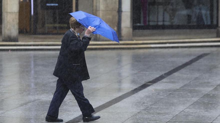 Toda Castilla y León, en aviso amarillo por fuertes lluvias y tormentas