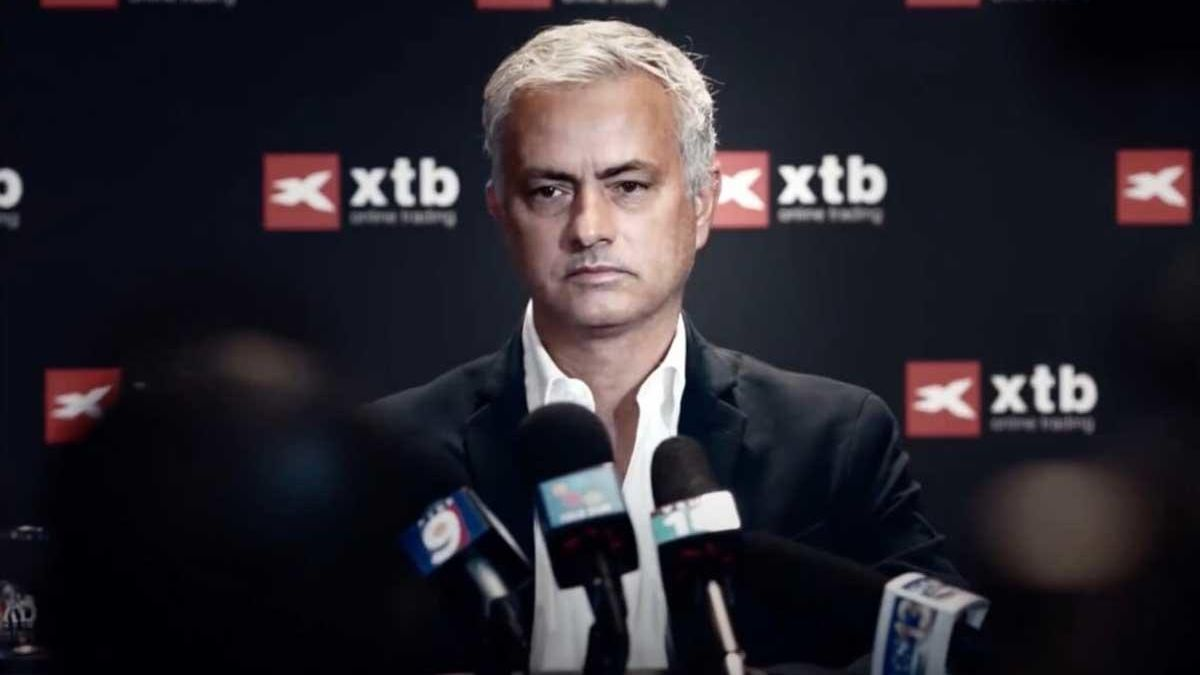 José Mourinho es el protagonista como nuevo embajador de la marca para los dos próximos años.