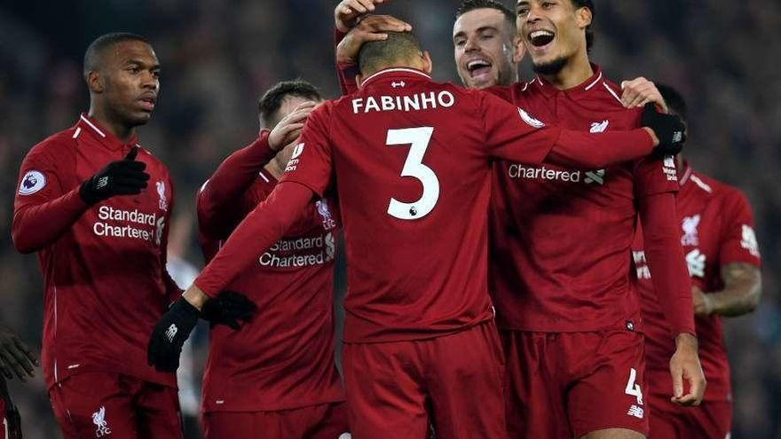 El Liverpool triunfa en el 'Boxing day'