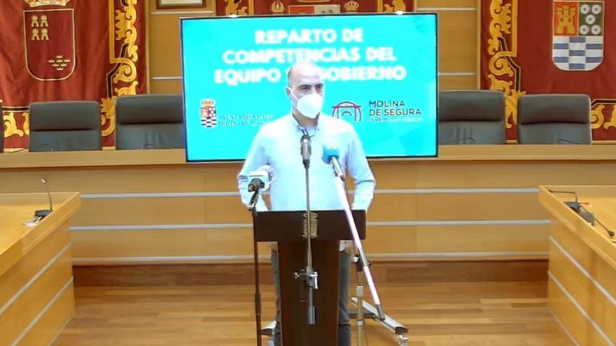El nuevo alcalde de Molina apuesta por la continuidad en su equipo de Gobierno