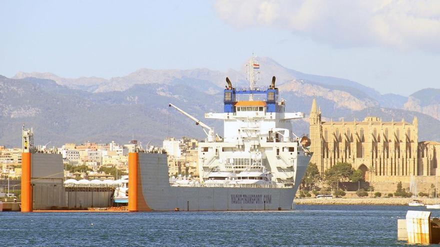Luxusyachten erreichen Mallorca trotz Coronavirus-Alarmzustand