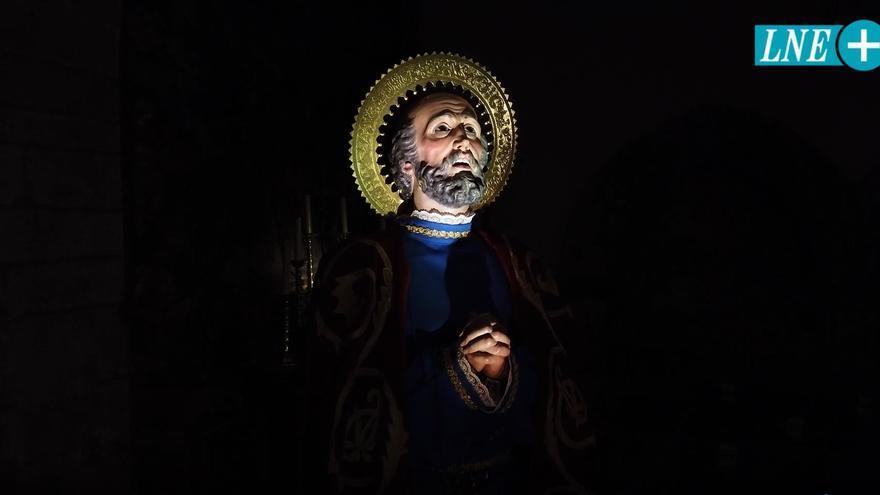 Cofradía del Santísimo Cristo de Rivero y San Pedro Apóstol