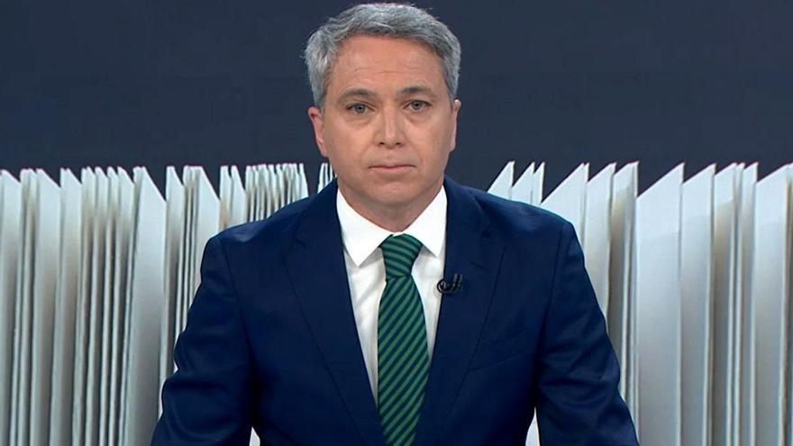 'Antena 3 Noticias' repite liderazgo en marzo, con la mayor distancia histórica de Vallés sobre Piqueras