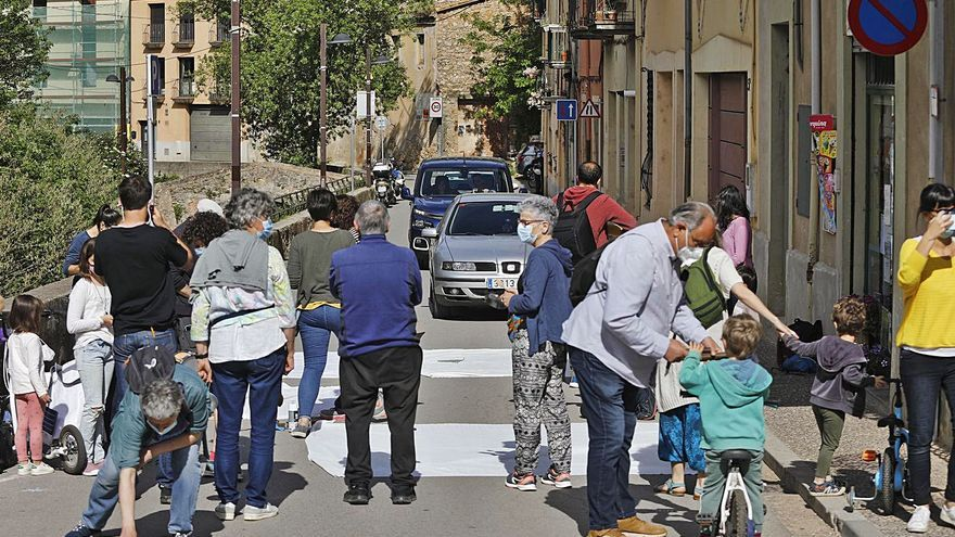 Protesta dels veïns de Sant Daniel