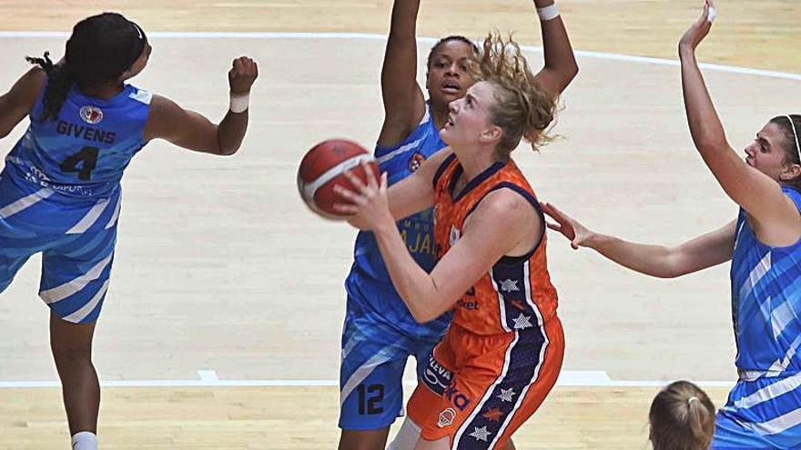 El Valencia Basket arrolla al Embutidos Pajariel (92-53)