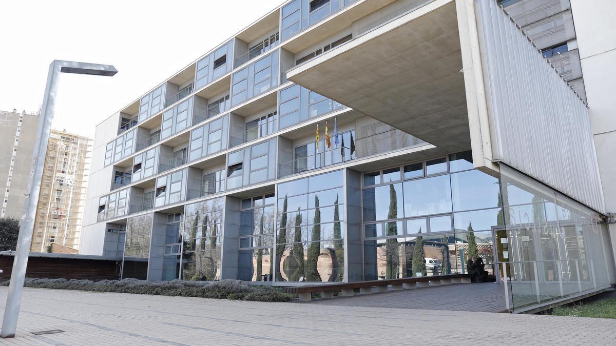 Façana del Palau de Justícia de Girona
