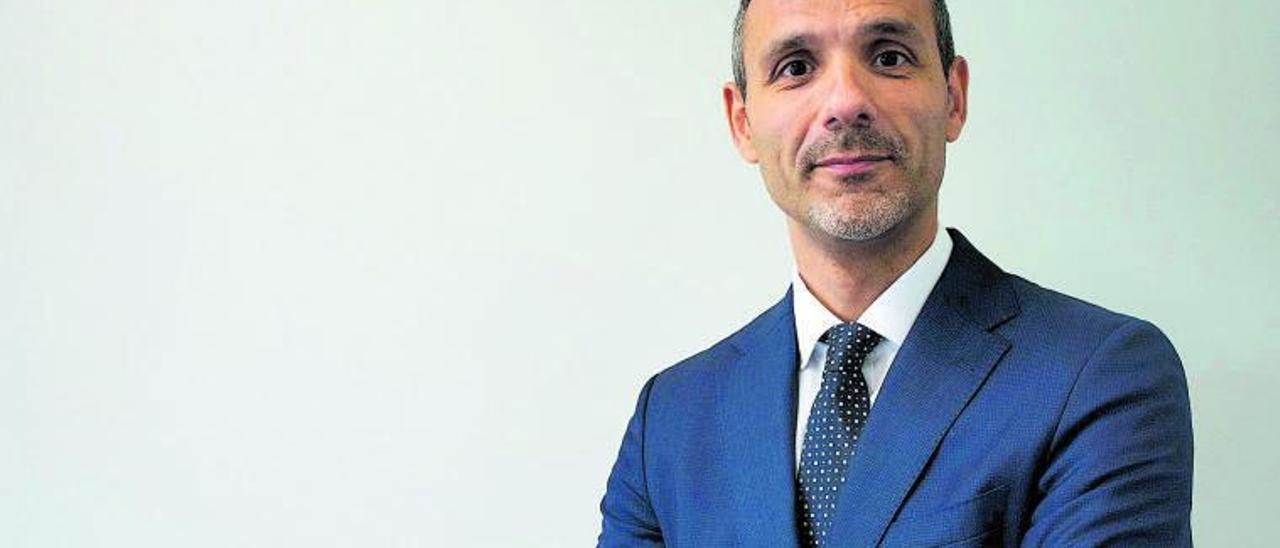 Roberto Matarraz, director de Zona León de BBVA. | Cedida .