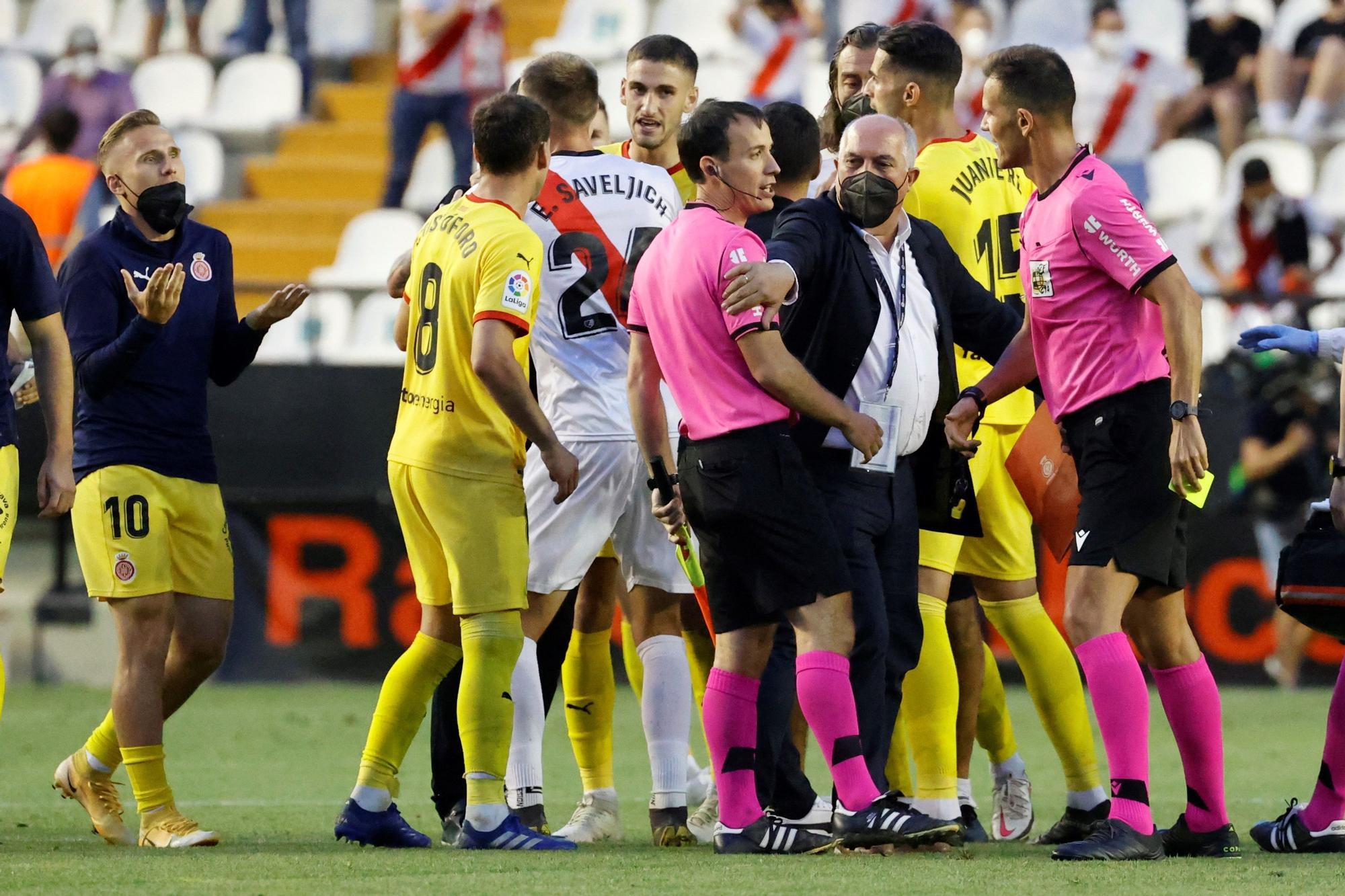 Rayo Vallecano - Girona FC, en imatges
