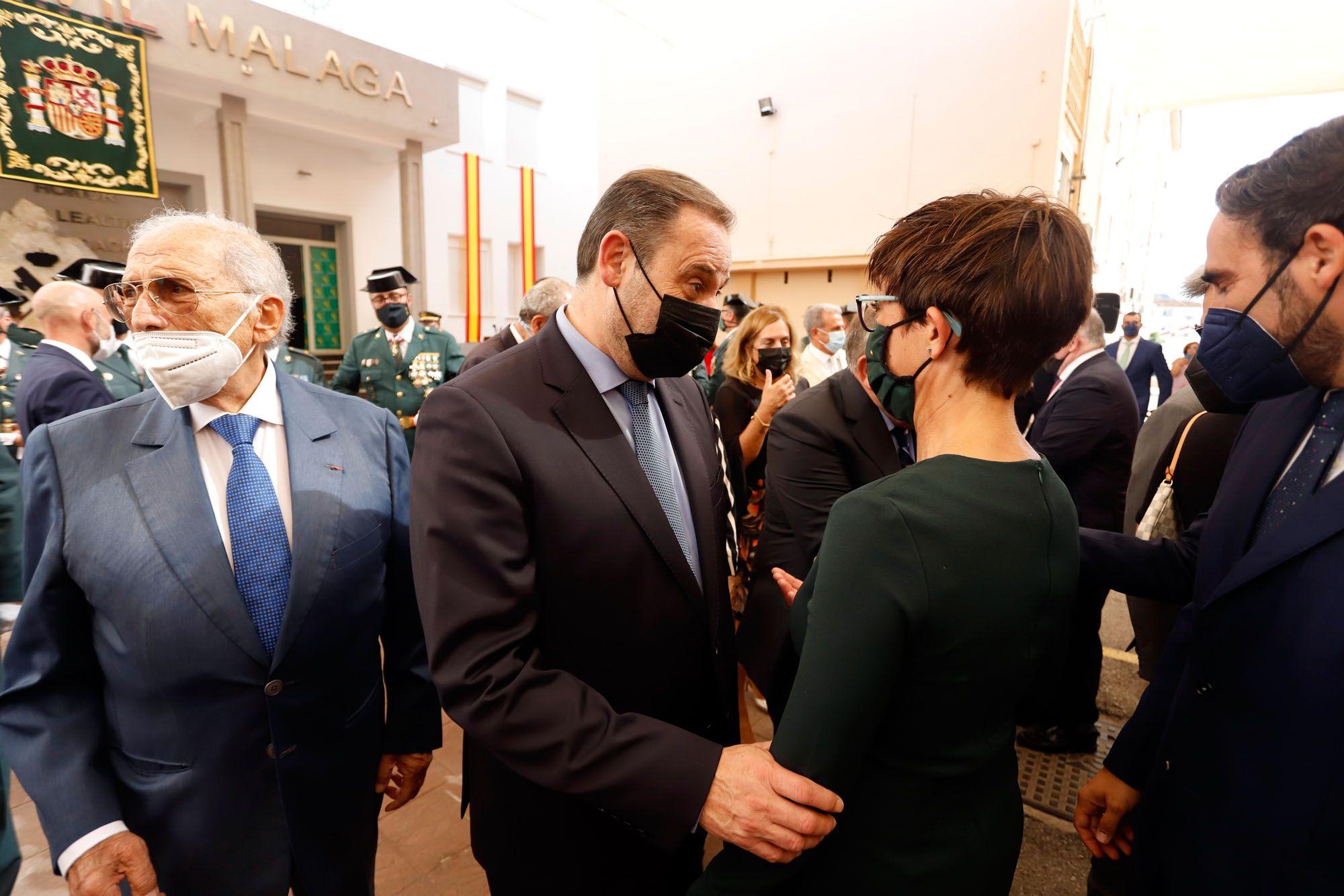 Celebración de la patrona de la Guardia Civil en la Comandancia de Málaga