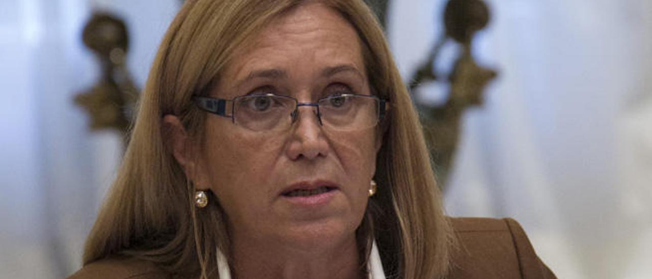 Imagen de Mercedes Roldós, exconsejera de Sanidad y diputada del PP