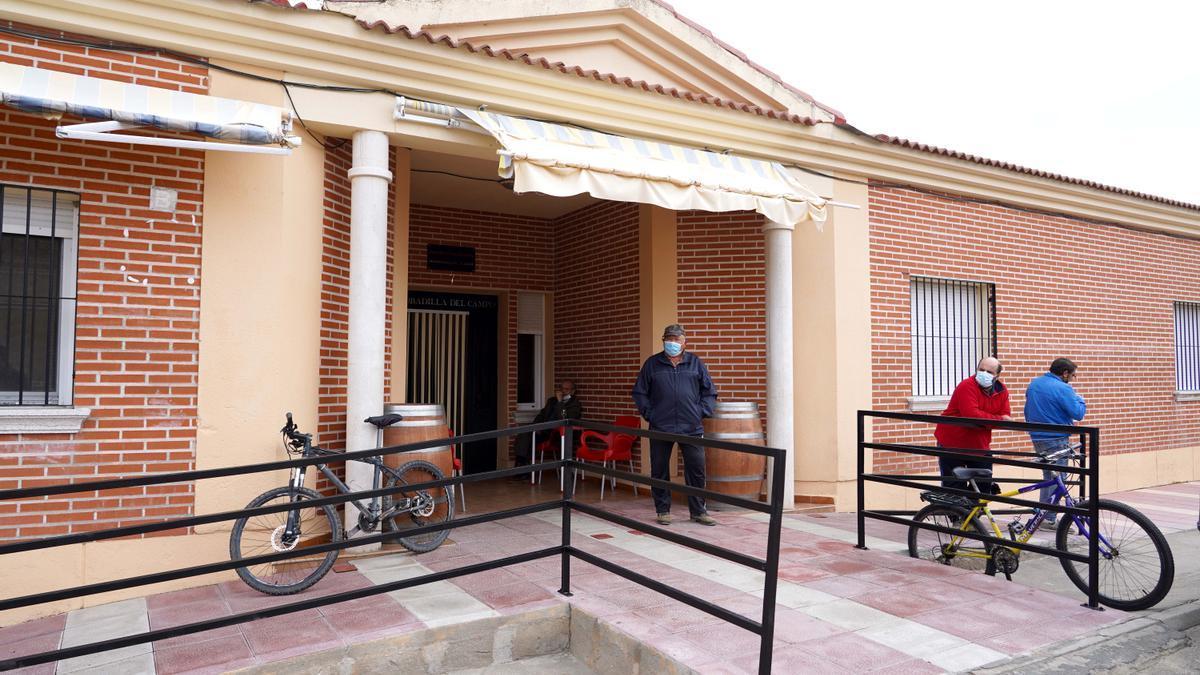 Centro de salud de Bobadilla del Campo, Valladolid el pasado mes de octubre.
