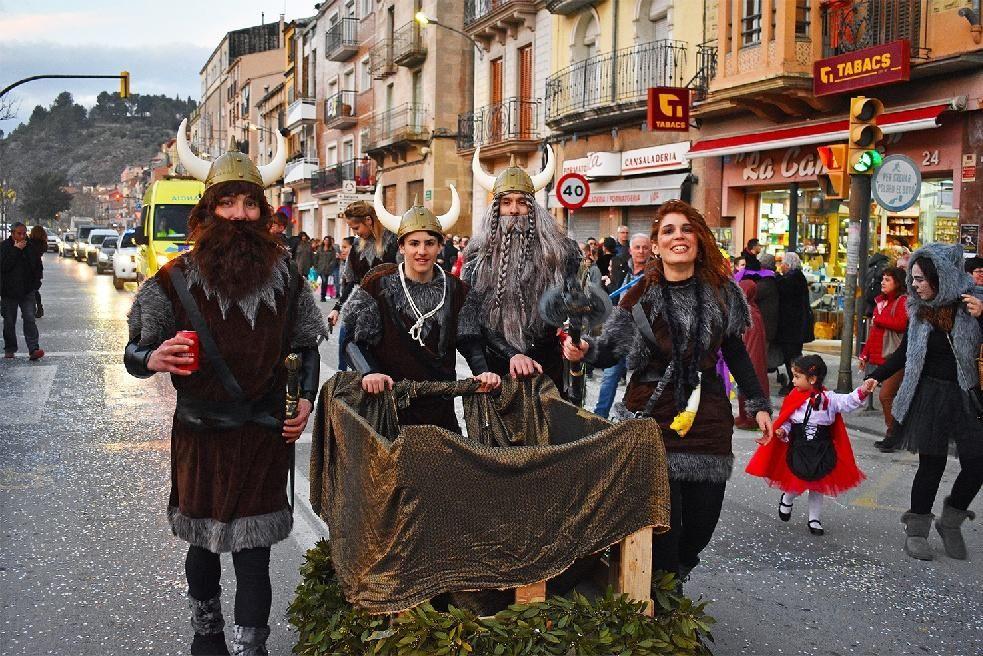 Rua del Carnestoltes de Súria
