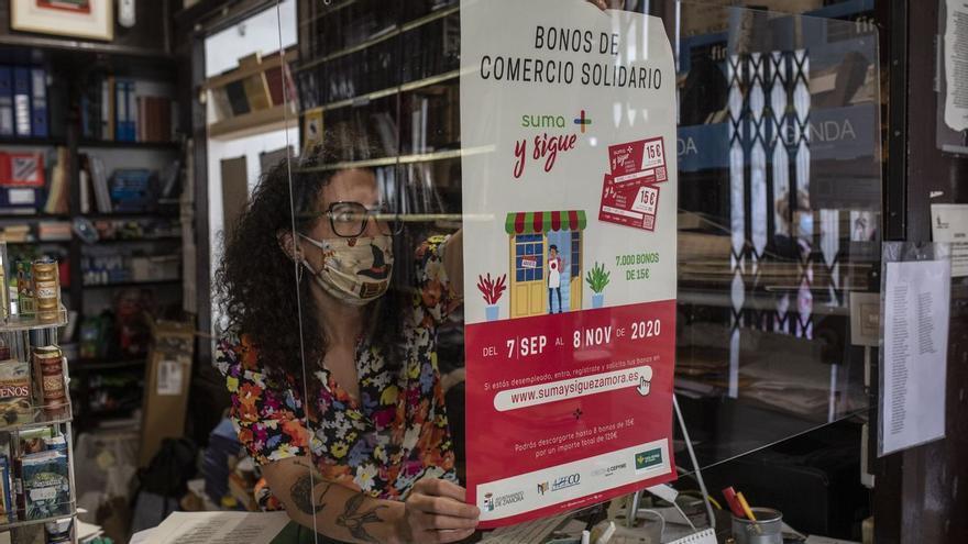 Zamora impulsa una nueva campaña de Bonos de Comercio Solidario